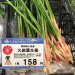 静岡名物の葉しょうがをご存知ですか?大村の地元ネタ第4弾☆