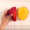 マンゴーの切り方をご紹介♪写真映えするフルーツカット方法です!
