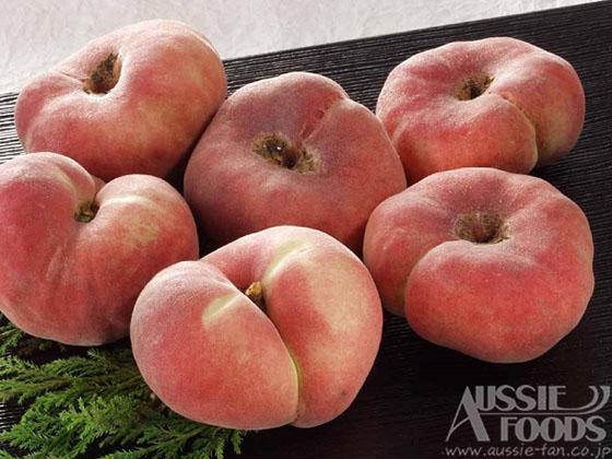 大紅蟠桃_面白い形の珍しい桃