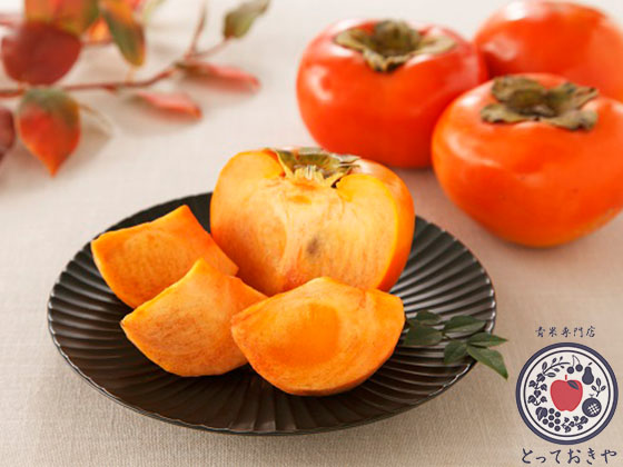 陽豊柿をご存知ですか?大きい!赤い!甘い!三拍子揃った幻の柿_陽豊イメージカット