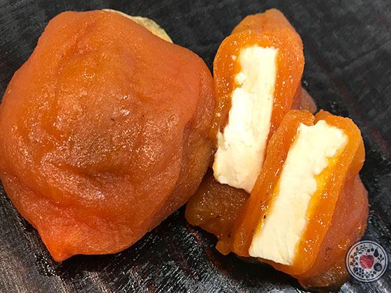 あんぽ柿の食べ方_クリームチーズサンド