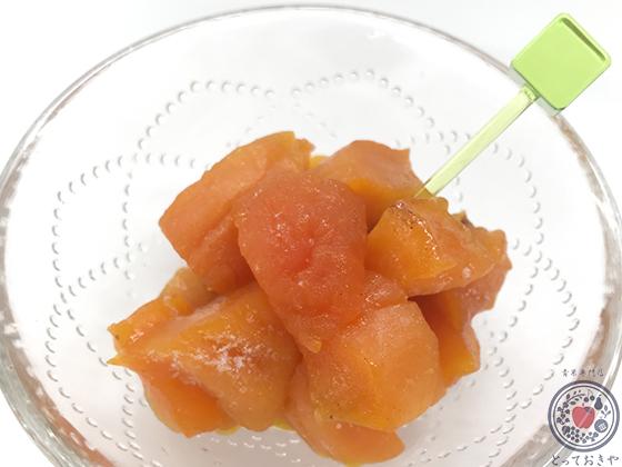あんぽ柿の食べ方_冷凍シャーベット