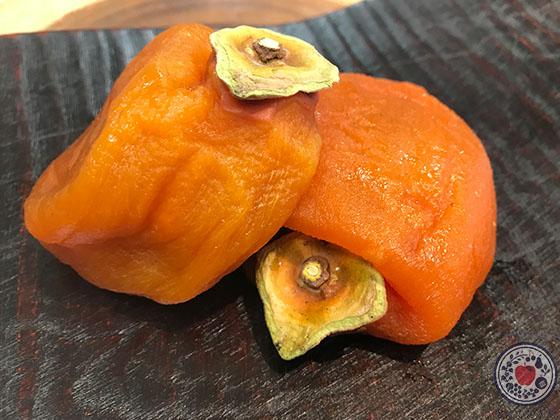あんぽ柿の食べ方