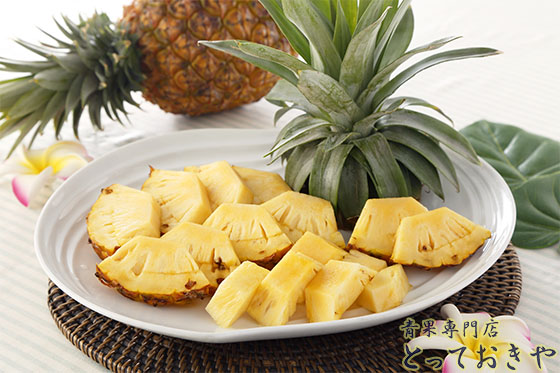 沖縄パインアップルの品種を青果の道40年の男が詳しく語ります(ゴールドバレル)