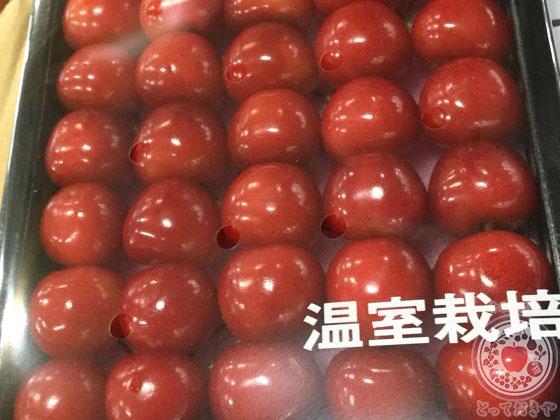さくらんぼ_紅秀峰_市場で見つけた箱詰め紅秀峰