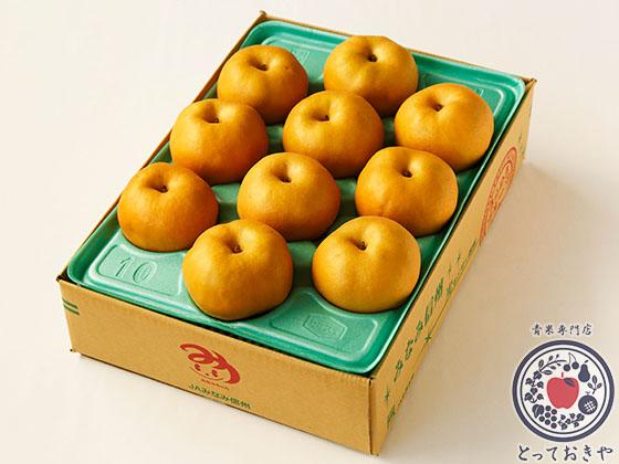 秋のフルーツ「梨」について_杉さんオススメの梨「太鼓判」