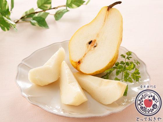 秋のフルーツ「梨」について_杉さんオススメ洋梨「ル・レクチェ」