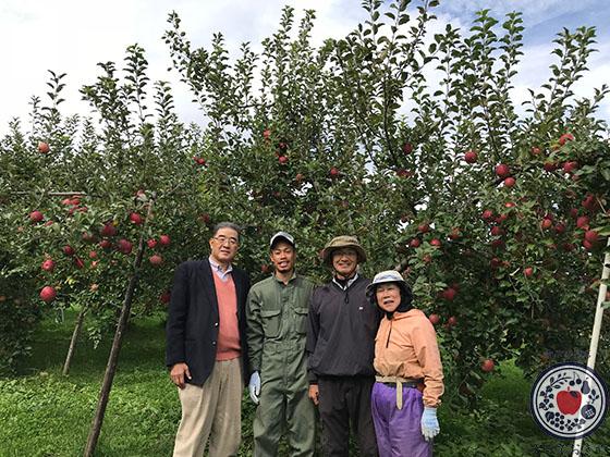 動画あり!長野県飯綱町のリンゴ園へ。とっておきの産地訪問記_上野さんと一緒に