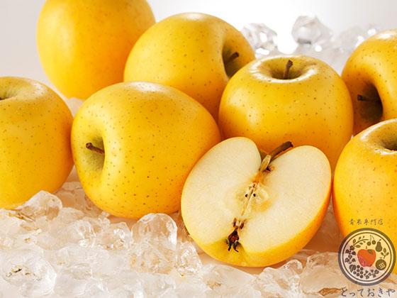 あなた好みのりんごはどれ?りんごの種類・味の特徴レクチャーします_シナノゴールド